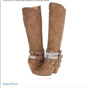 Not rated camel riding boots